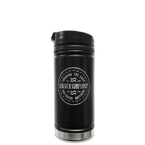 Sea Sick Surf Sea Sick Surf Lasered Etched Coffee Bottle Black
