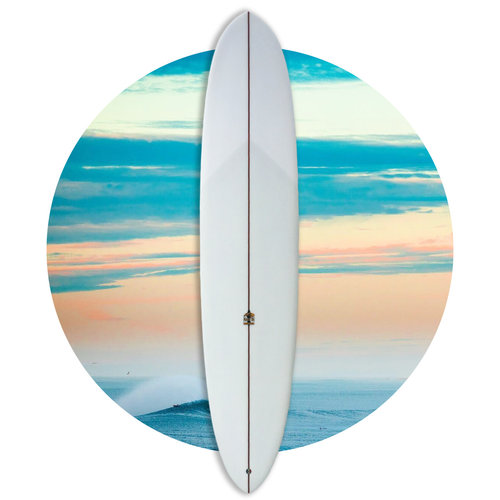 Martin Shapes Josh Martin Terry Slide 8'9 Longboard