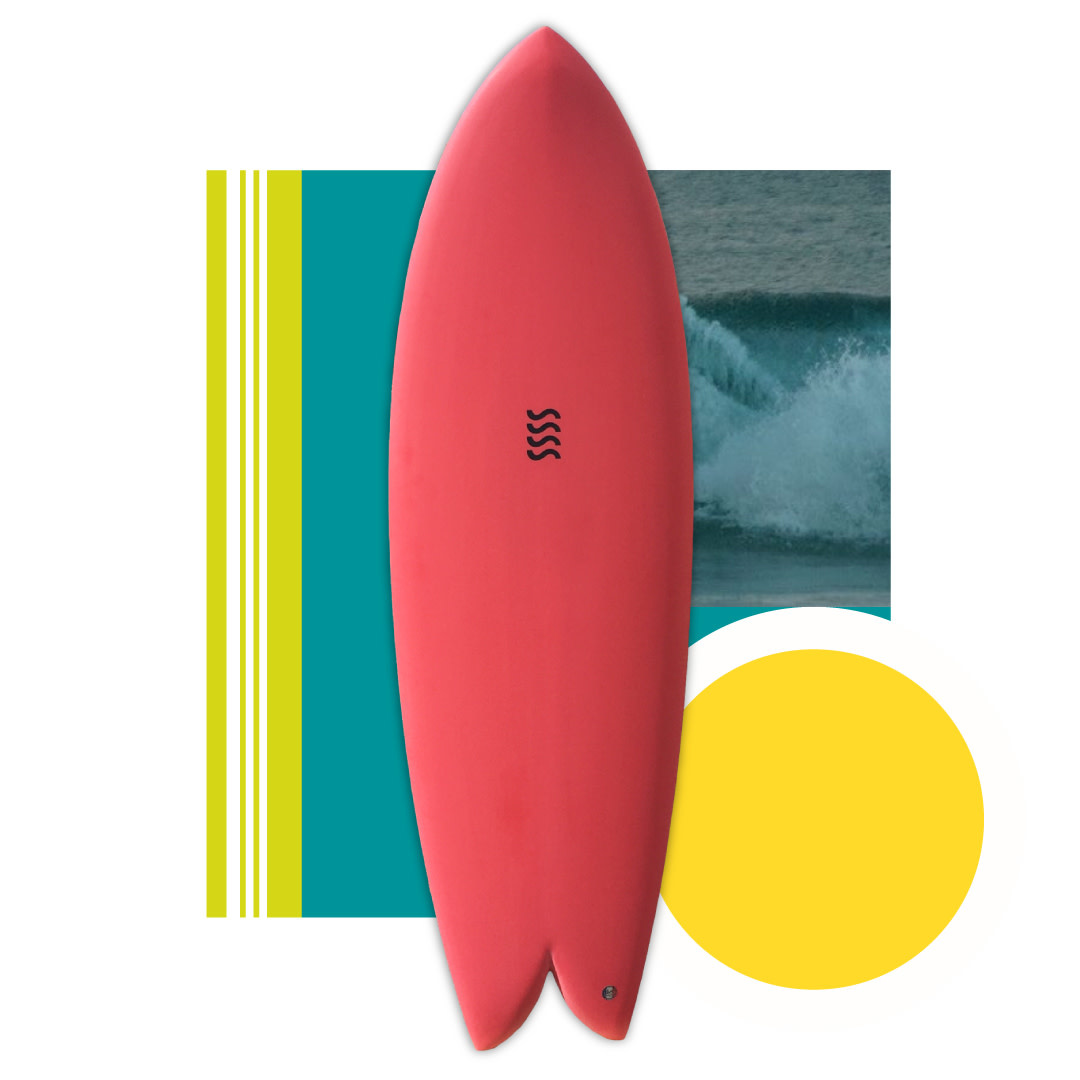 Sea Sick Surf Sea Sick Surf Classic Keel Fish 6'0