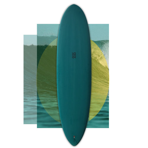 Sea Sick Surf Sea Sick Surf Classic Egg 7'5 // SOLD