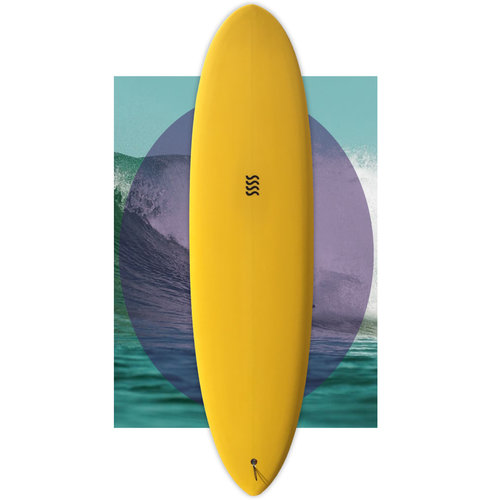 Sea Sick Surf Sea Sick Surf Classic Egg 7'3
