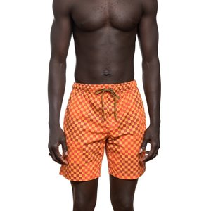 Mami Wata Surf Mami Wata Surf Men's Ouakam Surf Trunks Red Yellow
