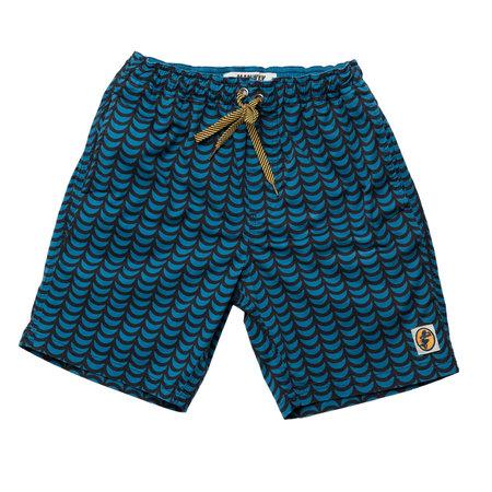 Mami Wata Surf Mami Wata Surf Men's Tofo Surf Trunks Blue Black