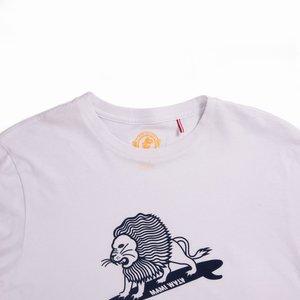 Mami Wata Surf Mami Wata Surf Men's Surfing Lion Tee White