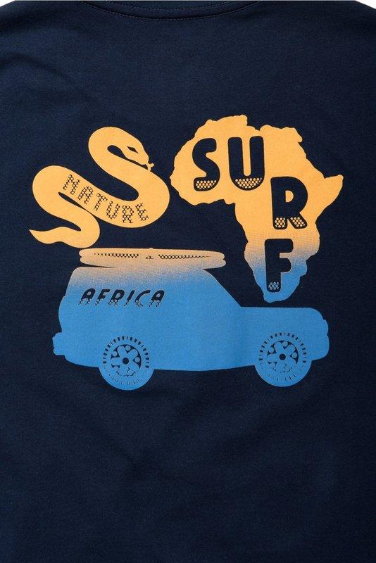 Mami Wata Surf Mami Wata Surf Men's Africa Surf Nature Tee Navy
