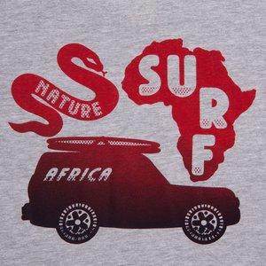 Mami Wata Surf Mami Wata Surf Men's Africa Surf Nature Tee Grey