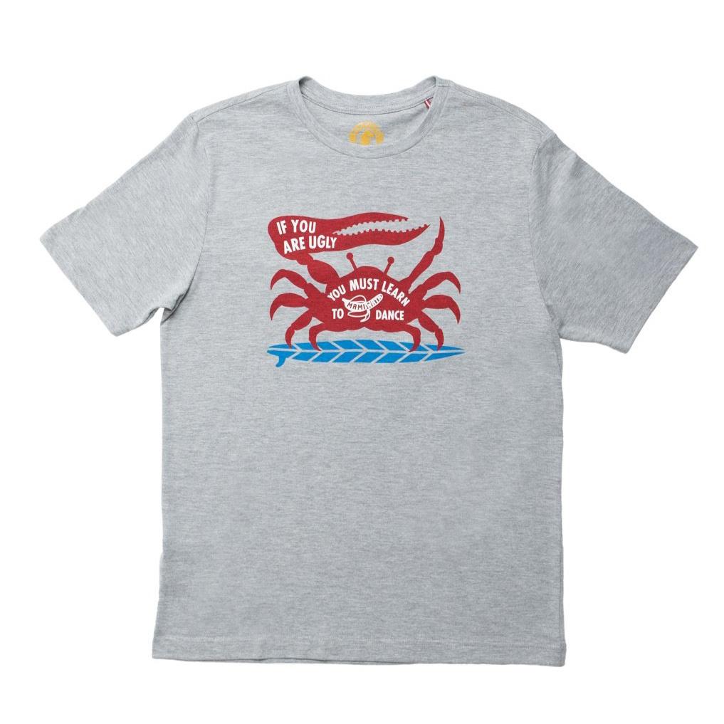 Mami Wata Surf Mami Wata Surf Men's Mami Crab Tee Grey