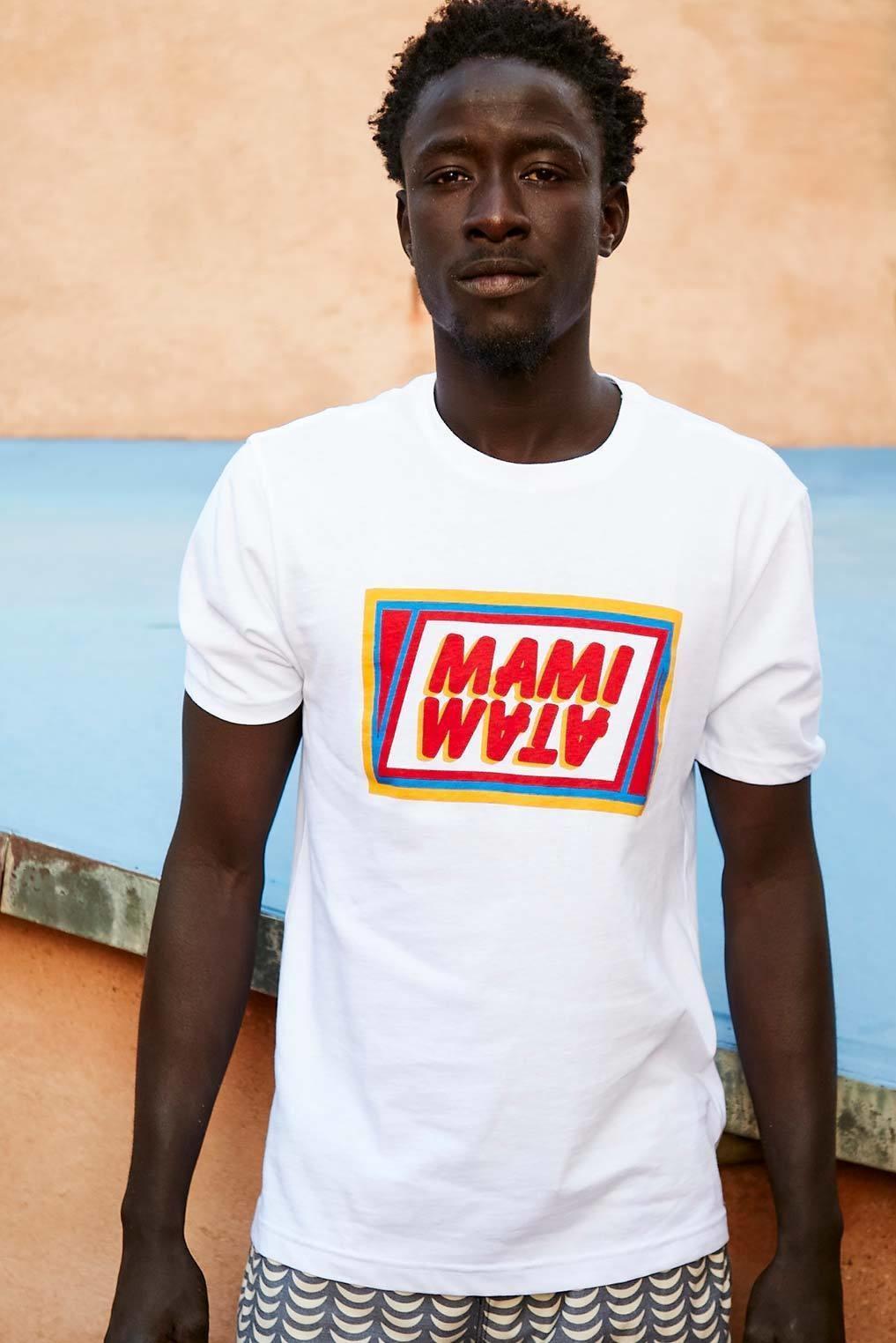 Mami Wata Surf Mami Wata Surf Men's Mami Café Tee White