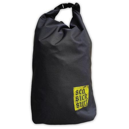 Sea Sick Surf Sea Sick Surf Water Resistant Rolltop Backpack Black