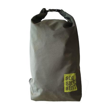 Sea Sick Surf Sea Sick Surf Water Resistant Rolltop Backpack Olive
