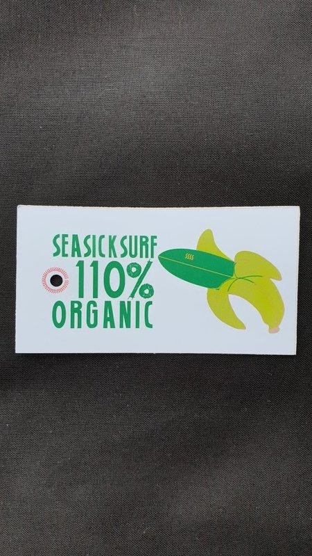 Sea Sick Surf Sea Sick Surf Organic Beach Bag Navy Embroidered