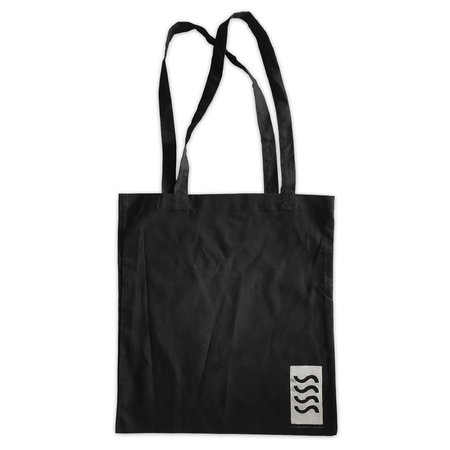 Sea Sick Surf Sea Sick Surf Shop Organic Tote Black SSSS Logo