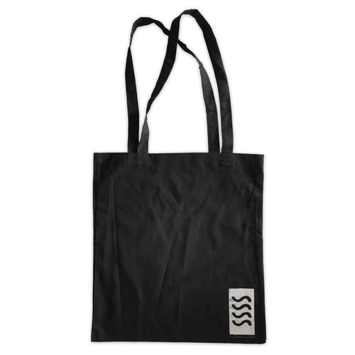 Sea Sick Surf Sea Sick Surf Shop Organic Tote Black SSSS Logo