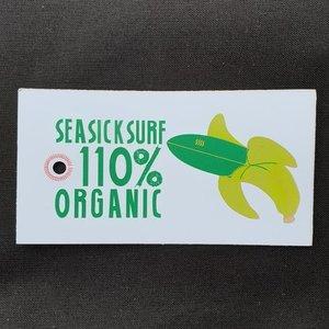 Sea Sick Surf Sea Sick Surf Men´s Organic Tee Black Embroidered