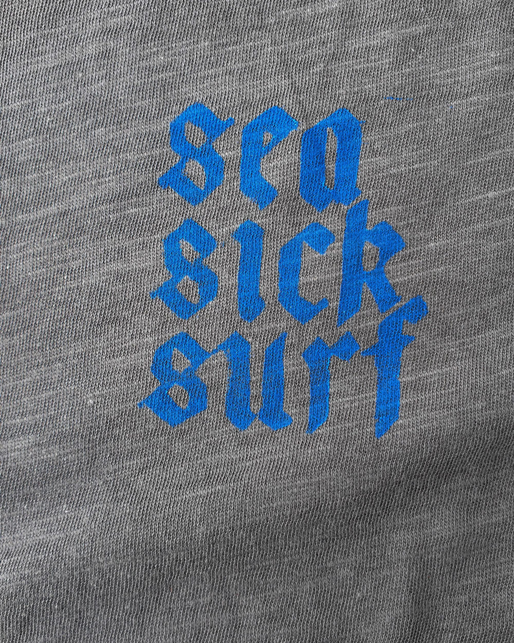 Sea Sick Surf Sea Sick Surf Men´s Organic Tee Stone Gothic Blue