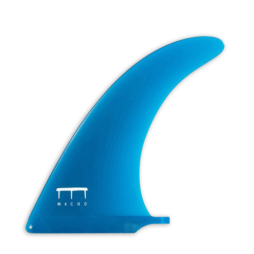 "Macho Fins Macho Spur Fin 9"" Blue Raw"