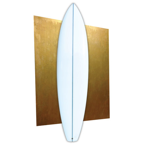 Luc Rolland 7'6 squaretail blue stringer