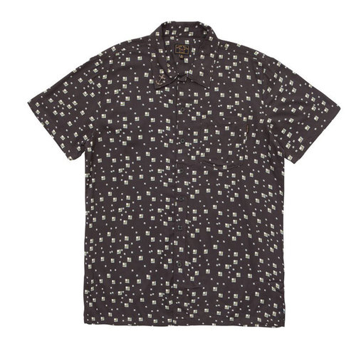 Dark seas merrimac woven shirt