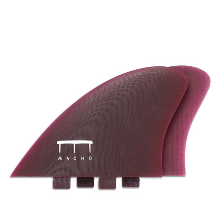 Macho Fins Macho Keel Fins Purple FCS