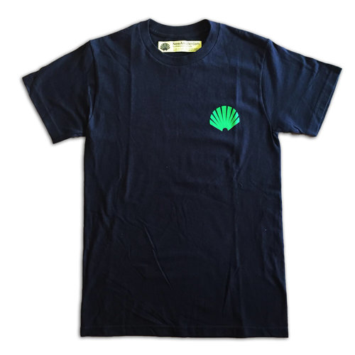 New Amsterdam Surf Association New Amsterdam SHELL GREEN Tee Black
