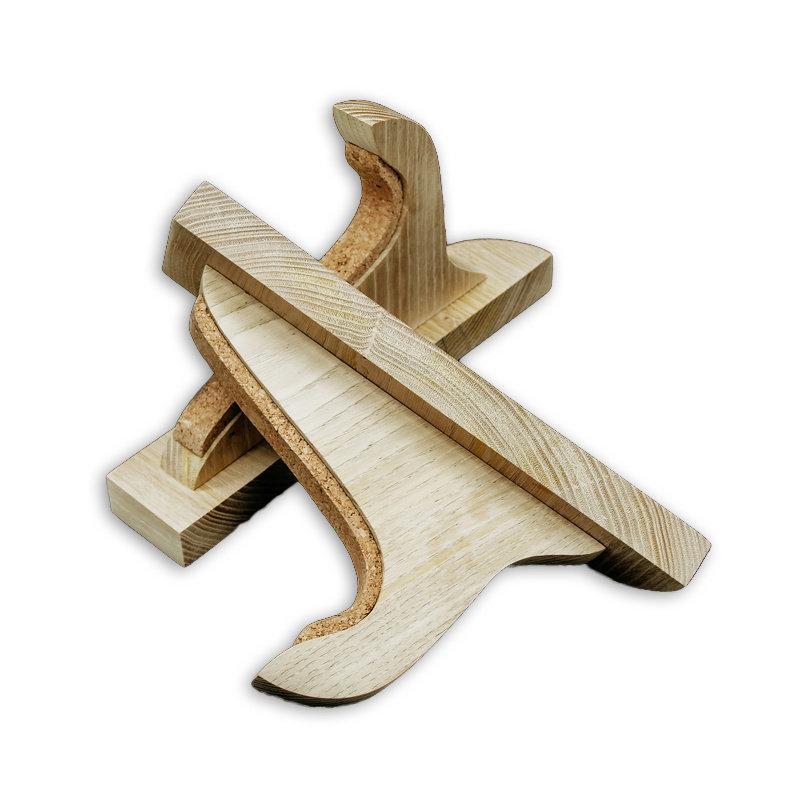 Wooden Surfboard Rack by Atelier roman