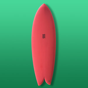 Sea Sick Surf Sea Sick Surf Classic Keel Fish 6'0