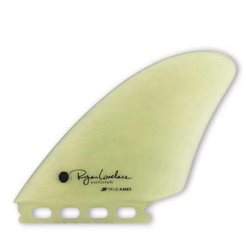 True Ames Ryan Lovelace piggyback twin keel fin set