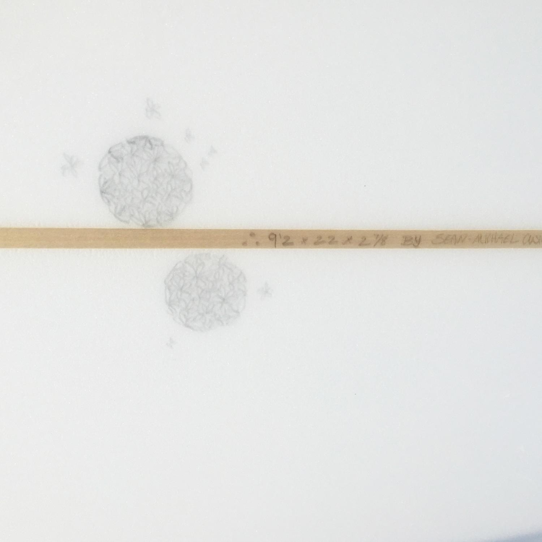 Sean Cusick Anhinga 9'2 Longboard Volan