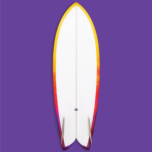 Troy Elmore Frye'd Fish 5'6 // SOLD