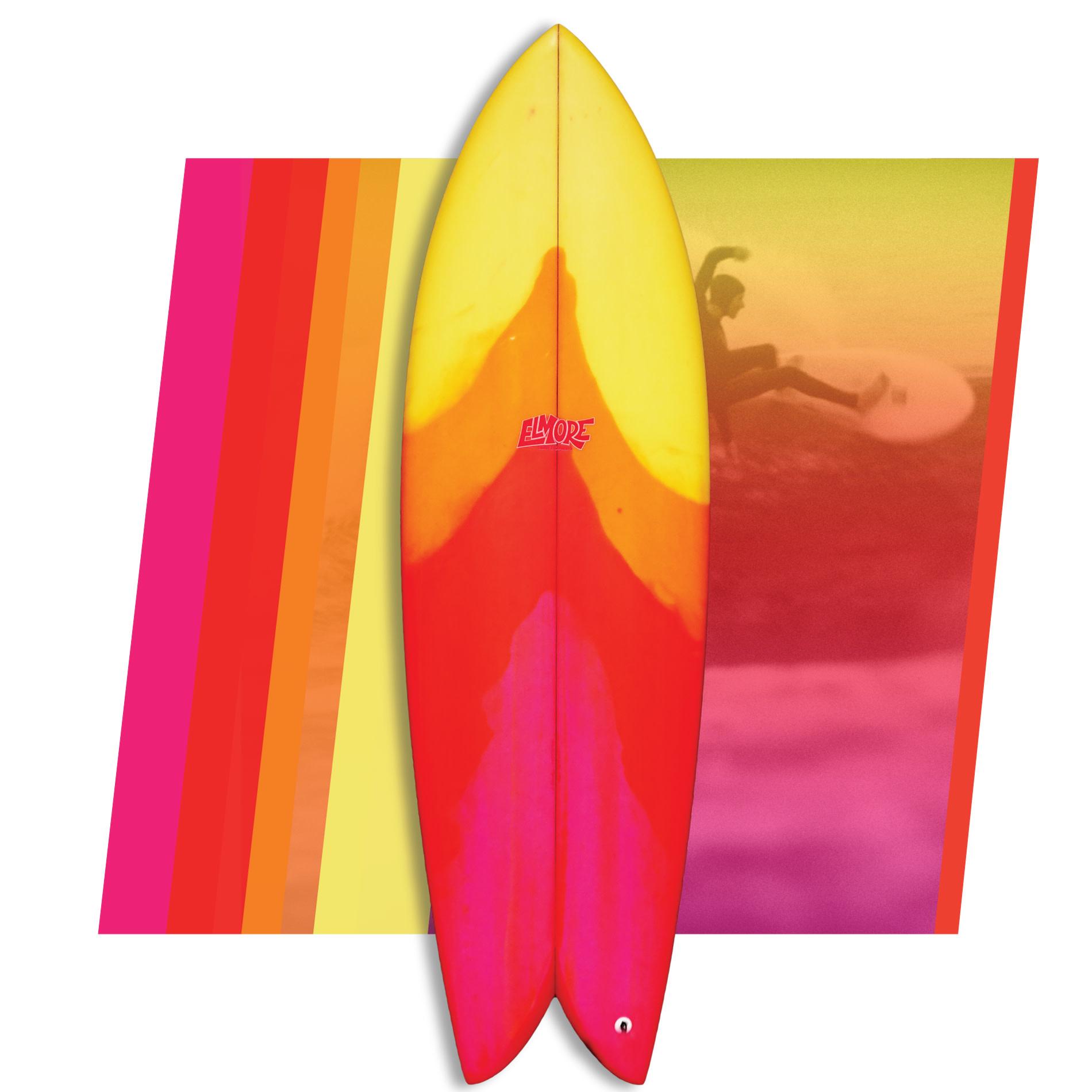 Troy Elmore Frye'd Fish 5'7 // SOLD