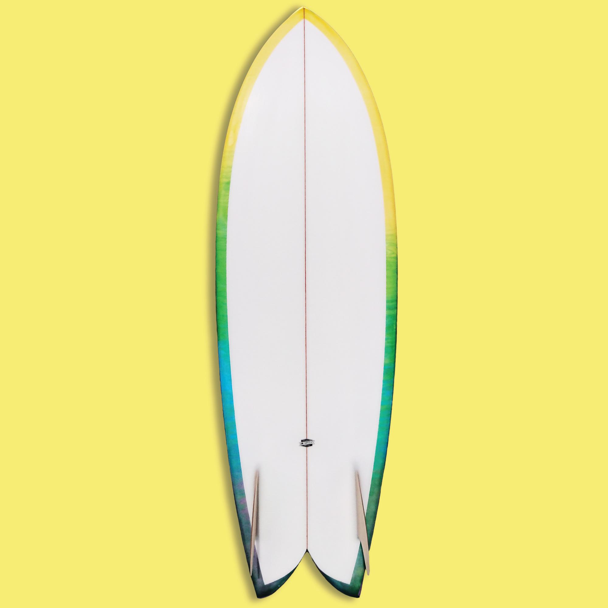 Troy Elmore Surfboards Troy Elmore Frye'd Fish 5'9