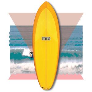 Mccallum Surfboards Jeff Mccallum Quagg 5'8