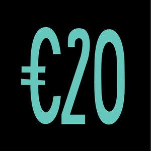 Giftcard 20 EUR