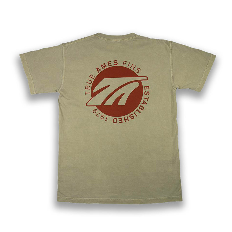 True Ames True Ames Logo Tee Khaki