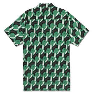 Mami Wata Surf Mami Wata Surf Men's Bananas Shirt Green Brown