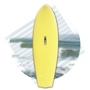 Critters Toy Co Manta Rave 5'8 // EX-DEMO