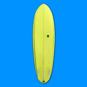 Sea Sick Surf Sea Sick Surf 2+1 Edgeboard 6'2 // SOLD