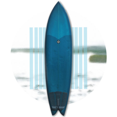 Josh Hall Rocket Fish 6'8 // WITH FINS / PRELOVED