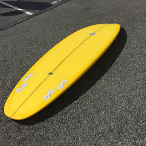 Neal Purchase Junior Quartet 6'0 // PRELOVED WITH FINS