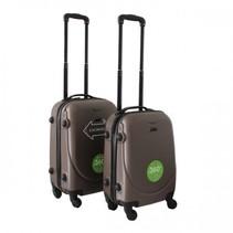 ABS handbagage koffer. Coffee