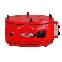 Itimat oven rond vrijstaand met ovenschaal van 40 cm 1100 WATT