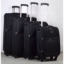 Prachtige 4 delige koffer set Zwart
