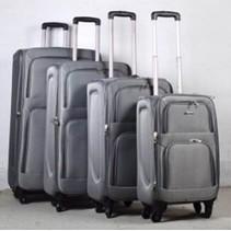 Prachtige 4 delige koffer set Grijs