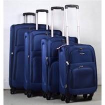 Prachtige 4 delige koffer set Blauw