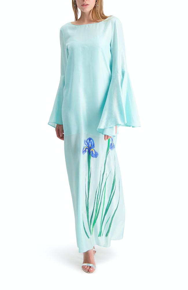 Aquamarine Iris