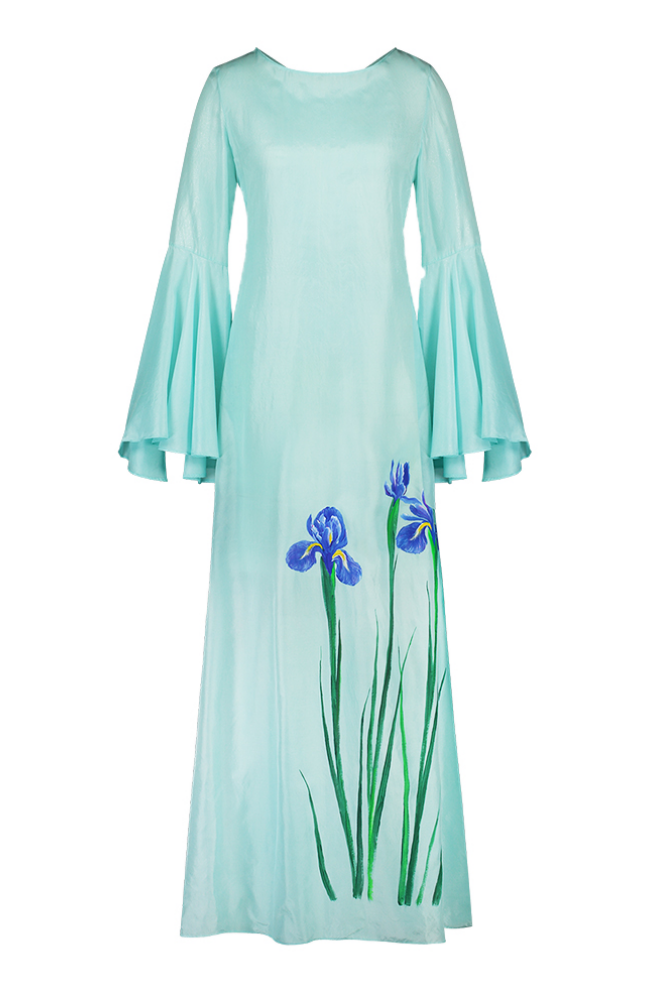 MALA CHETTY Aquamarine Iris