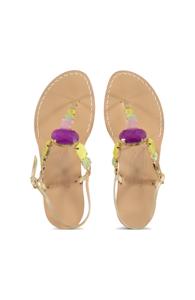 Canfora for Mala Chetty sandels Jamila Gemstone
