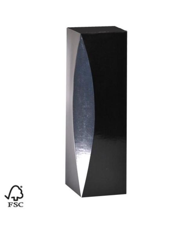 Kokerdoos cadeauverpakking zwart/zilver MAGNUM