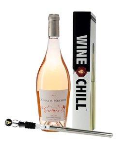 Val di Toro 6 flessen Anna's Secret en één WineChill