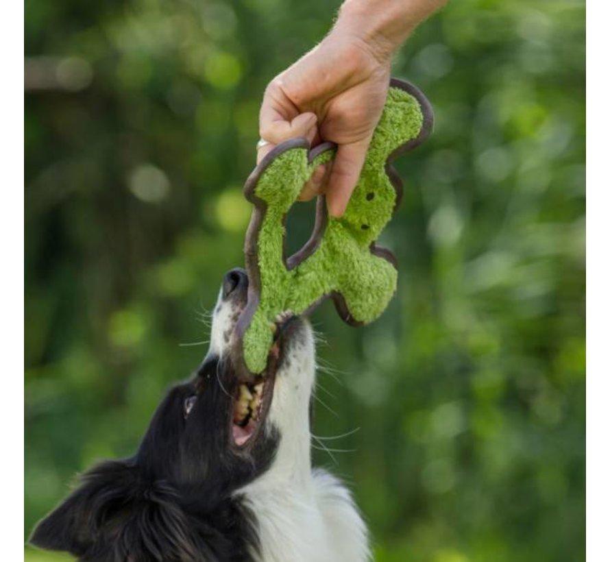 Dog Toy Frog with Plush